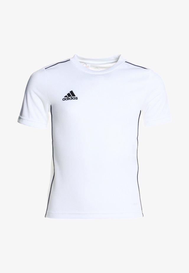 CORE - Vêtements d'équipe - white/black