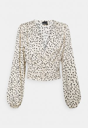 INA BLOUSE - Blouse - white