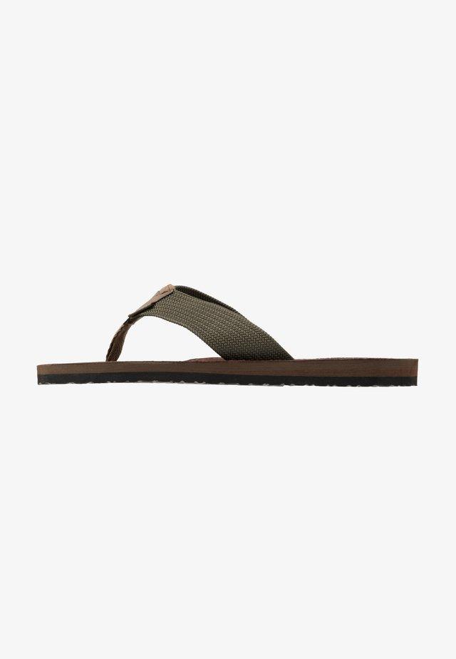 TOEMAN BEACH SANDAL - T-bar sandals - olive