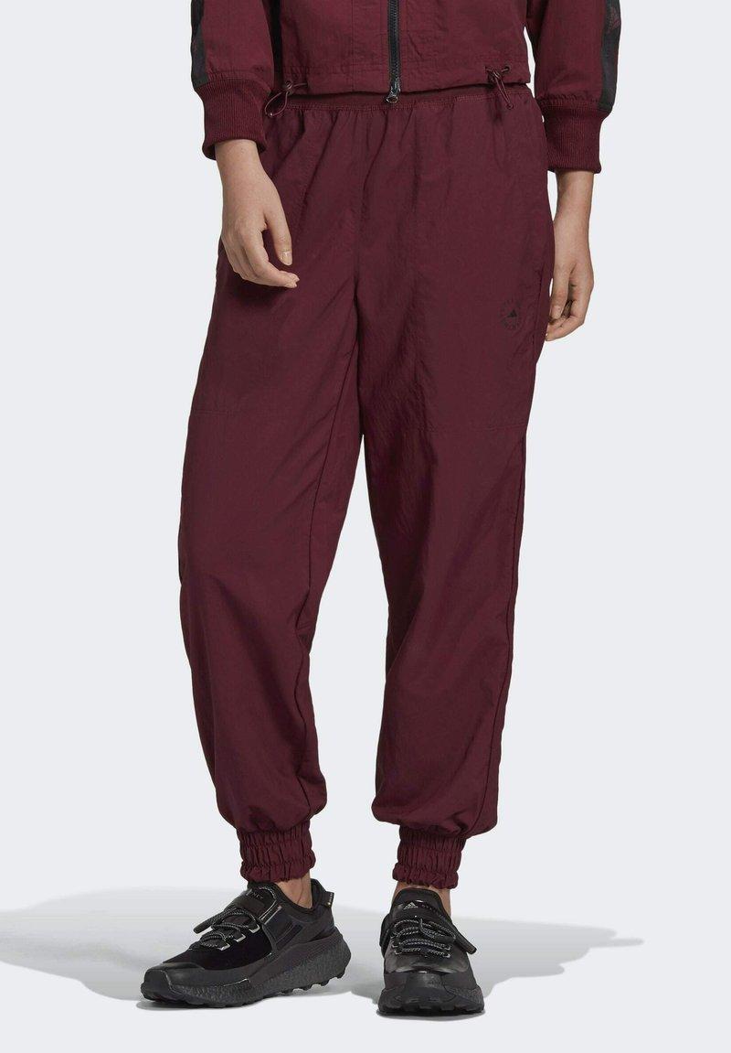 adidas by Stella McCartney - CF MACCARTNEY TRAINING WORKOUT PANTS - Pantalones deportivos - burgundy