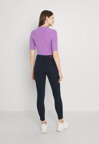 Lee - SCARLETT HIGH ZIP - Jeans Skinny Fit - dark lea - 2