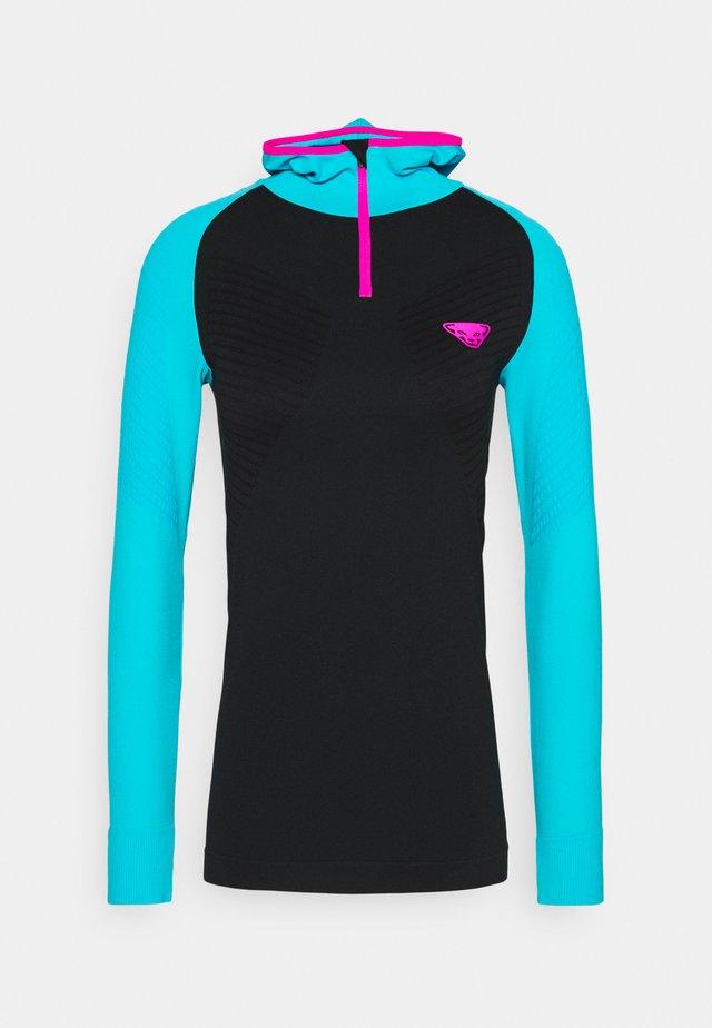 DRYARN WARM HOODY - T-shirt de sport - blue