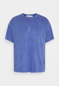 Topman - PARIS - T-shirt basic - blue - 3