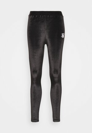 PIPING  - Leggings - Trousers - black