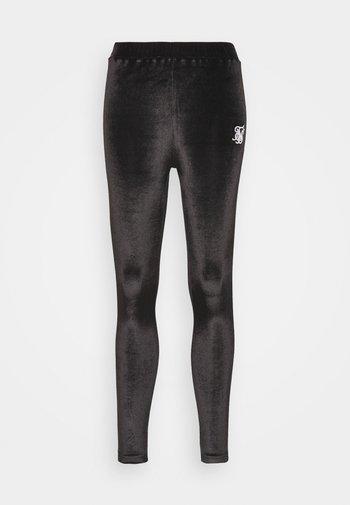 PIPING  - Leggings - Trousers - black