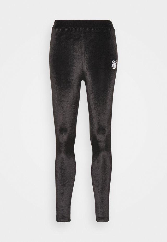 PIPING  - Leggings - black