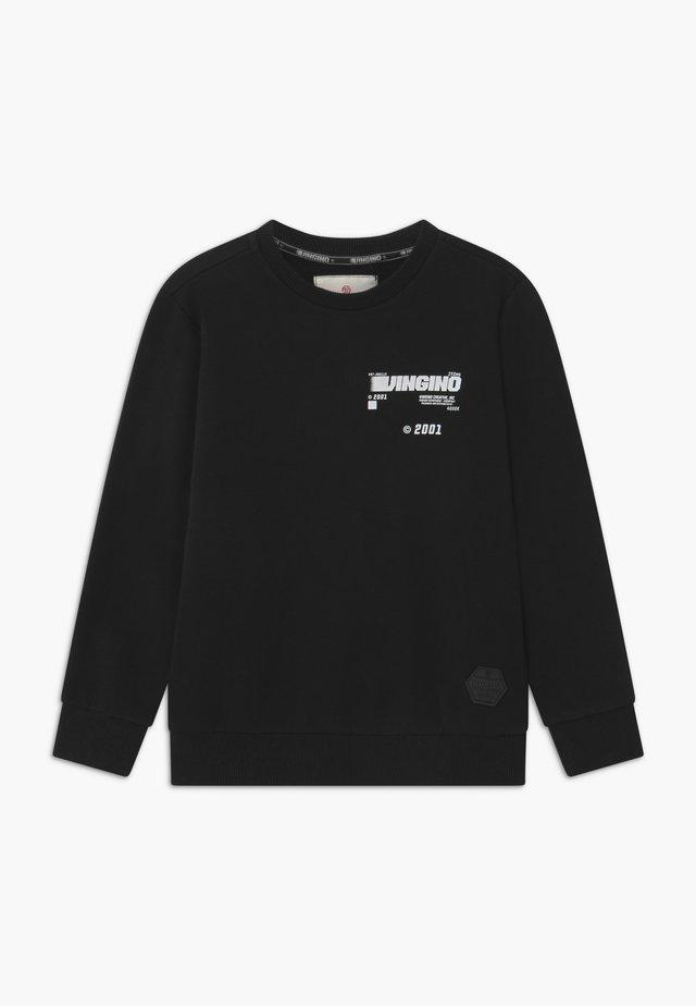 NIRT - Sweatshirt - deep black