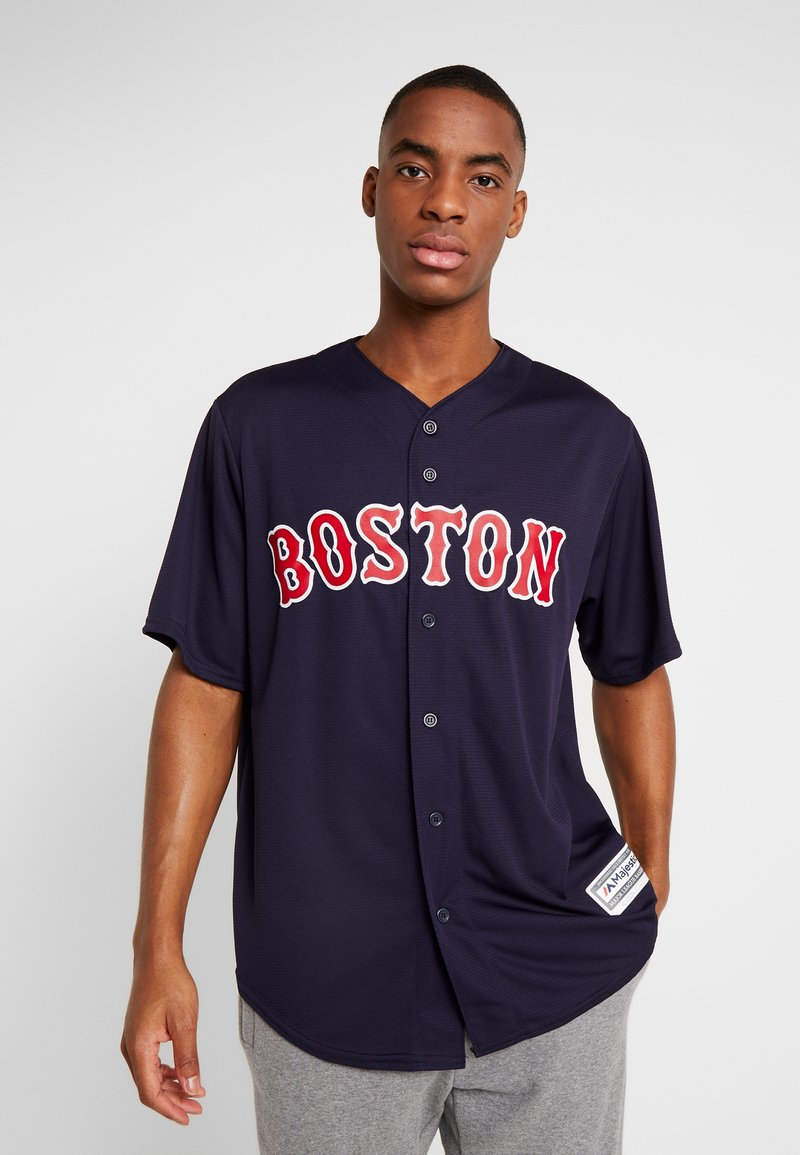 Fanatics - BOSTON SOX MAJESTIC REPLICA COOL BASE ALTERNATE - T-shirt imprimé - dark blue