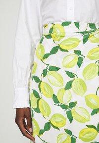 Fabienne Chapot - CORA SKIRT - Wrap skirt - yellow - 4