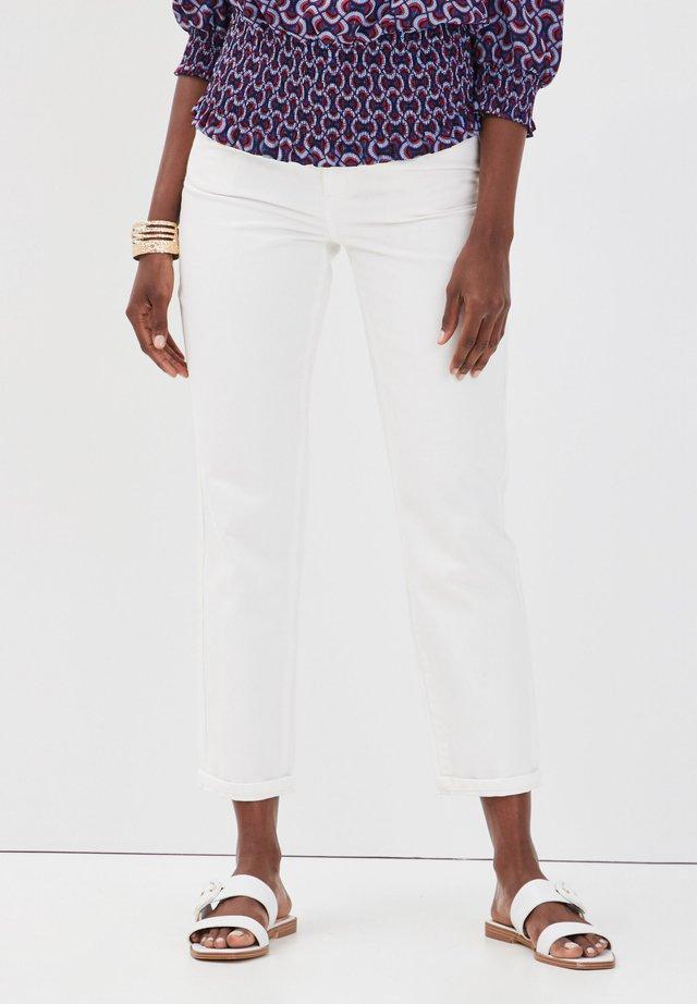 Jeans slim fit - ecru