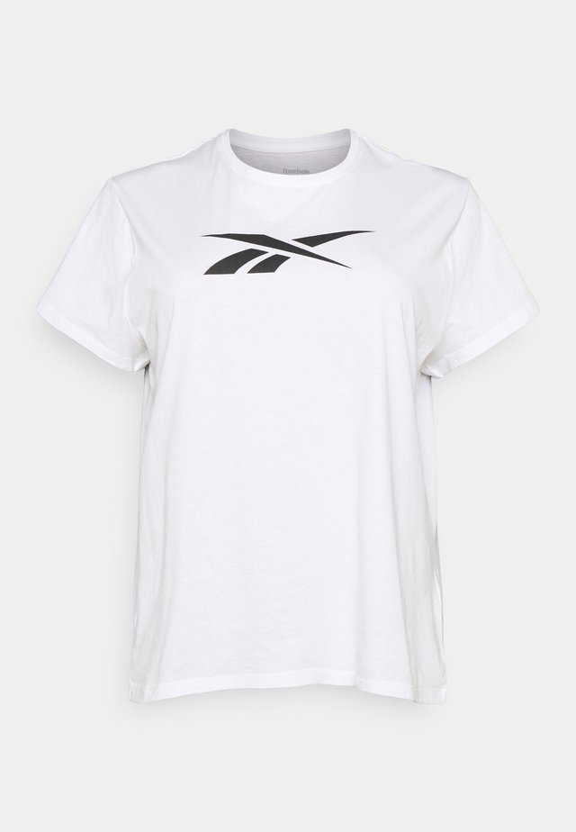 GRAPHIC VECTOR TEE  - T-shirt con stampa - white