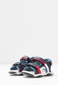 Geox - AGASIM BOY - Walking sandals - navy/dark sky - 3