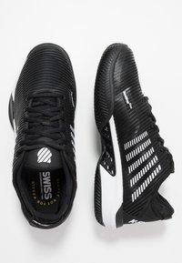 K-SWISS - HYPERCOURT SUPREME HB - Tenisové boty na antuku - black/white - 1