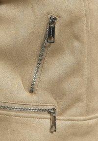 Street One - Faux leather jacket - beige - 4