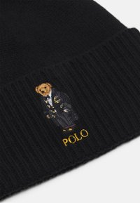 Polo Ralph Lauren - HOLIDAY BEAR HAT - Huer - black - 4