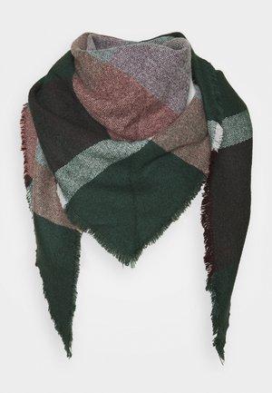 Foulard - dark green/light pink