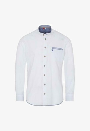 Shirt - weiß blau