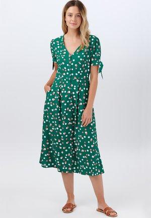 VERONICA DAPPLED SPOT - Sukienka letnia - green