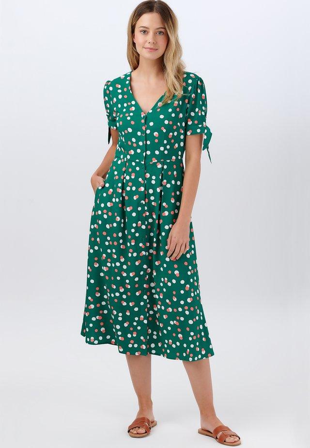 VERONICA DAPPLED SPOT - Robe d'été - green