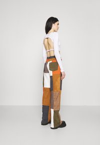 Jaded London - PATCHWORK WIDE LEG TROUSER - Trousers - multi - 2