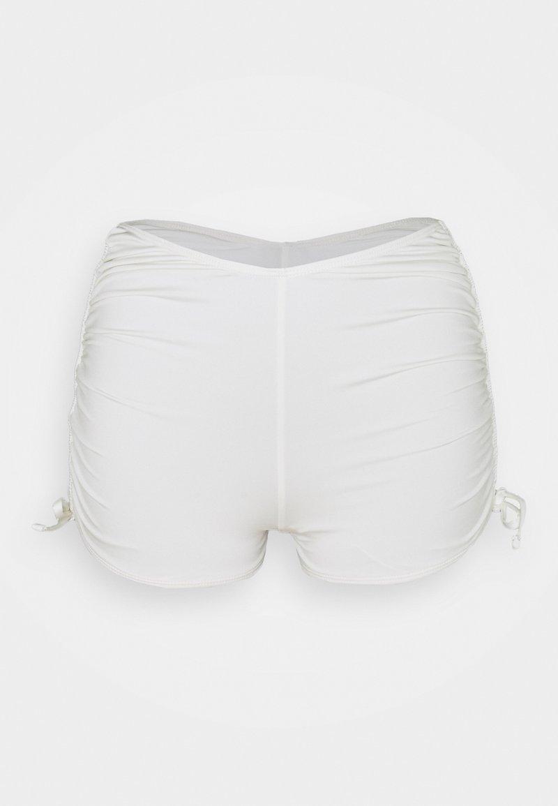 We Are We Wear - OLIVIA TIE SIDE SHORTIE - Bikini bottoms - oatmilk