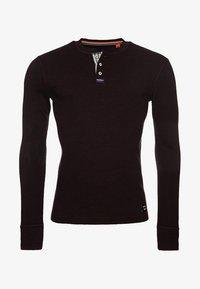 Superdry - MIT LANGEN ÄRMELN  - Långärmad tröja - burgundy - 3