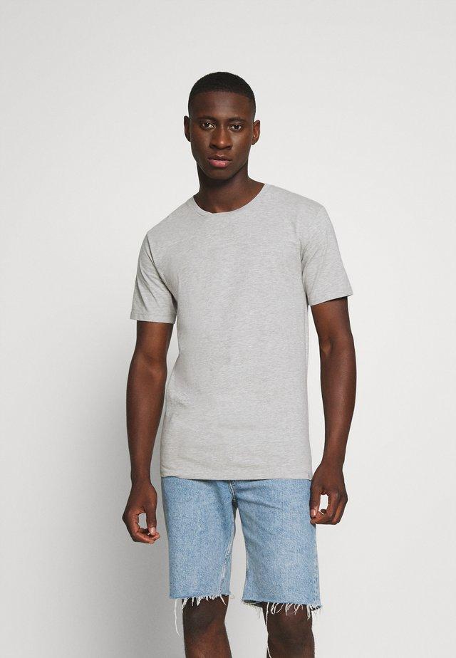 LUKA  - Basic T-shirt - light grey melange
