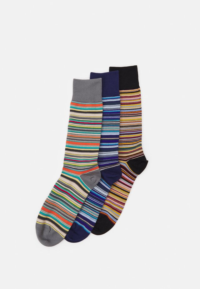 MEN SOCK 3 PACK  - Strumpor - blue/grey/black/multi-coloured