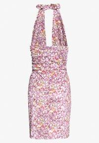 HOSBJERG - STELLA DRESS - Sukienka koktajlowa - purple - 1