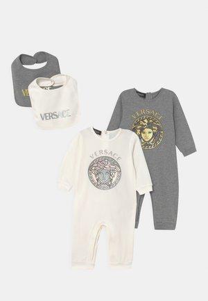 LOGO MEDUSA 2 PACK SET UNISEX  - Jumpsuit - bianco/grigio/giallo