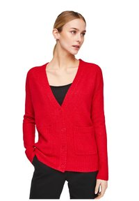 comma casual identity - Cardigan - scarlet red - 3