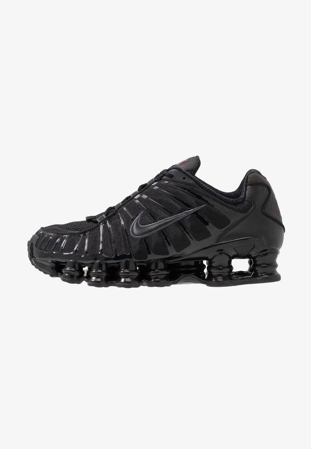 Nike Shox TL Herrenschuh - Sneakersy niskie - black/metallic hematite/max orange