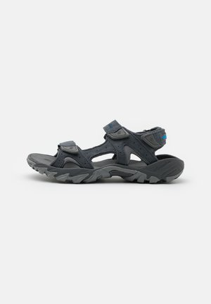 SANTIAM 3 STRAP - Sandały trekkingowe - graphite/hyper blue