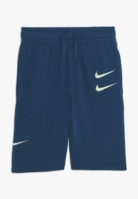 Nike Sportswear - Tracksuit bottoms - blue force/barely volt - 0