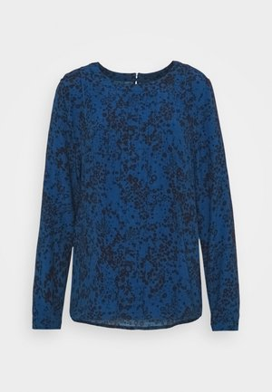PINTUCK - Blouse - blue floral