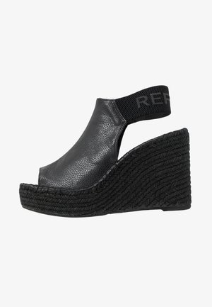 TYNE - High heeled sandals - black