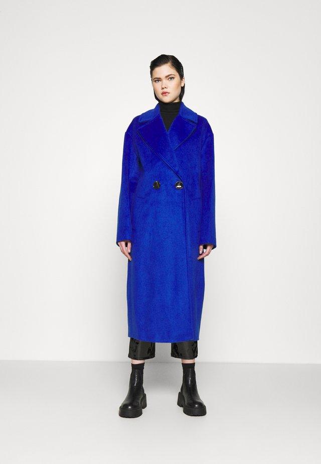Classic coat - cobalt