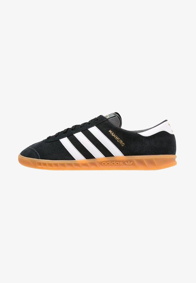 HAMBURG - Trainers - core black/white