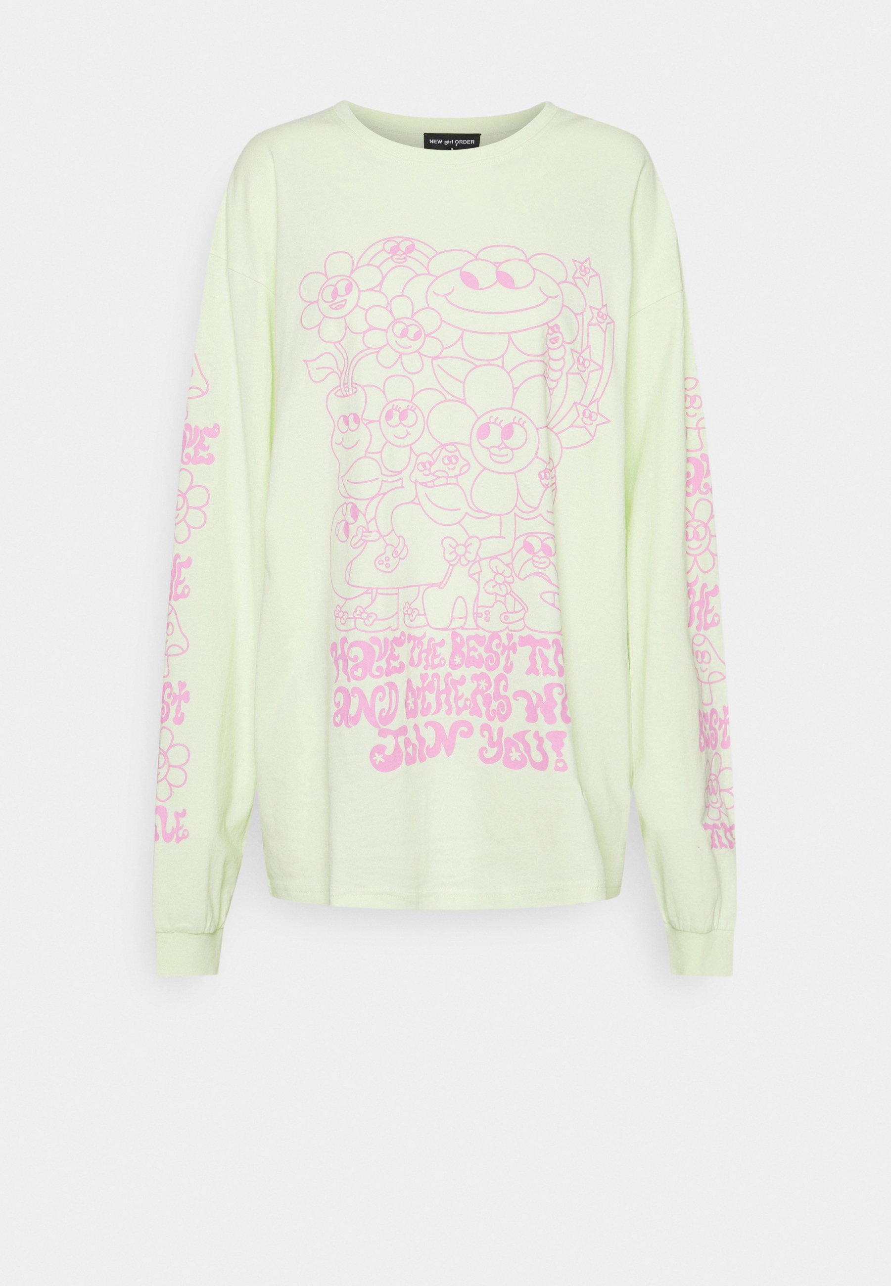 Women HAVE THE BEST TIME - Long sleeved top