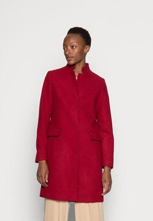 Classic coat - dark red