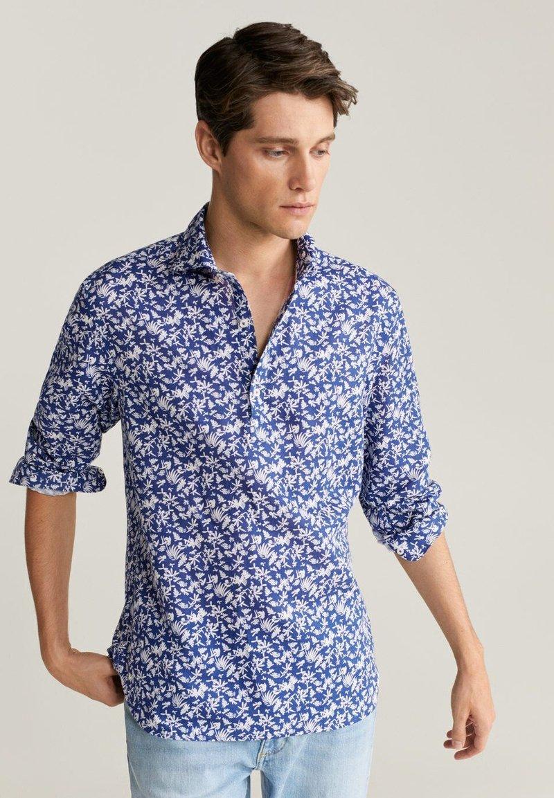 Mango - TANIT - Shirt - dunkles marineblau