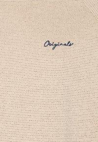 Jack & Jones - JORHIDE CREW NECK - Sweatshirt - oatmeal - 2