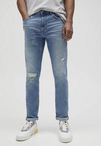 PULL&BEAR - Slim fit jeans - royal blue - 0