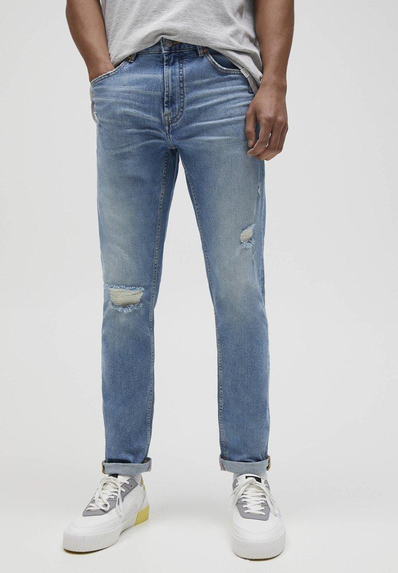 PULL&BEAR - Slim fit jeans - royal blue