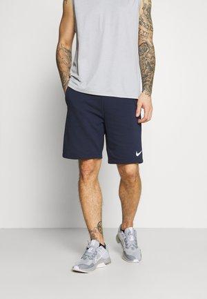 SHORT - Pantaloncini sportivi - obsidian/(white)