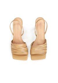 Kazar - LELA - Sandalen met hoge hak - light brown - 3