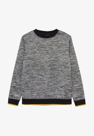 Fleece jumper - black out