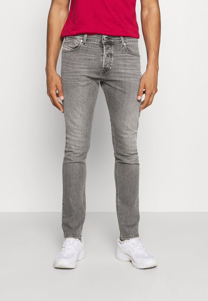 Diesel - D-LUSTER - Slim fit jeans - grey denim