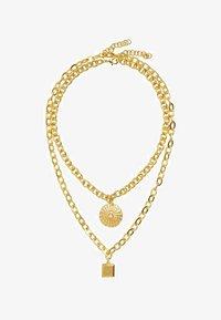Violeta by Mango - CHAD - Necklace - gold - 0