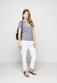 Lauren Ralph Lauren - REFINED  - Print T-shirt - white/lauren navy - 1